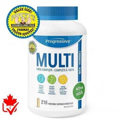 Progressive Multivitamin Active homme