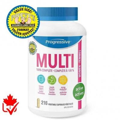 Progressive Multivitamin Active femme