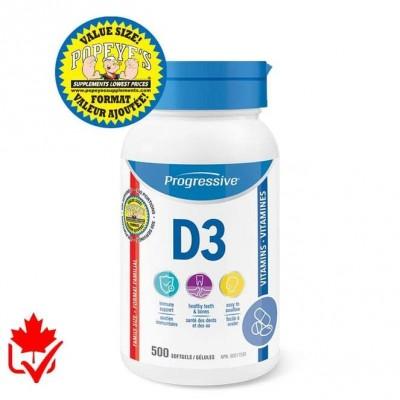 Progressive Vitamine D3